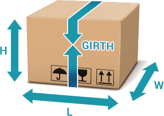 Calculating box length and girth